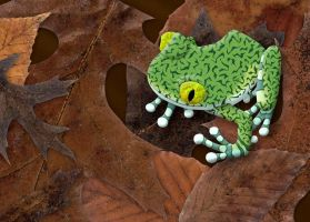 Big-Eyed Tree Frog by FauxHead