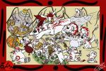 We Love Our Mommy Amaterasu by ziude