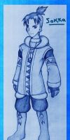 Older Sokka in Pencil by tui-and-la