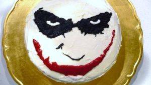 Joker Cake by WhysoSeriousHahAHAhA