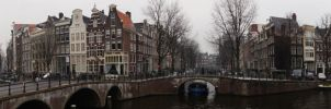 A channel in Amsterdam by S-moon
