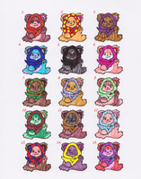 Ewok adoptables page 1- OPEN by evangeline40003