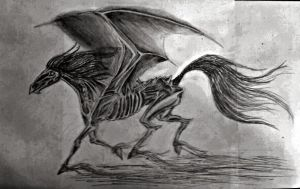 Thestral by LittleDLopez