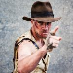Indiana Jones by Paper-Cube