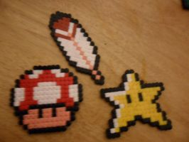 Mario Hama Beads by jazzyjazz666