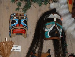 Various Masks 4 by JensStockCollection