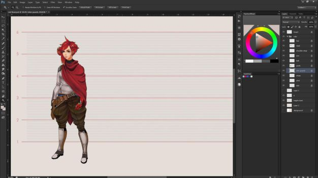 Red Turnaround WIP by Springs