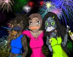 Party Ducks by animalgirl314