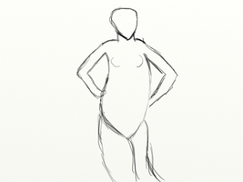 Practice human dynamic pose bd by gtstyling32