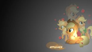 Wallpaper Applejack by Mauakron