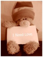 I Need Love by mzelBulle