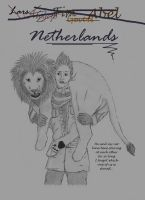 Hetalia: Netherlands and his Cat by 7thCobweb