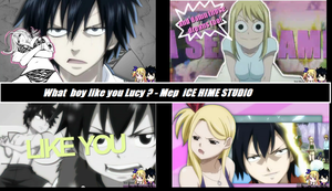 What Boy like you Lucy by momoko230