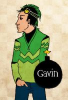 Gavin for cannibalplant by Fallingfreely