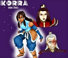 Legend of Korra Book Three by 5ifty