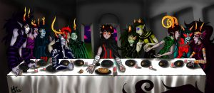 The Last Supper by summoningspazzy