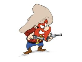 Yosemite Sam by CalamityKangaroo