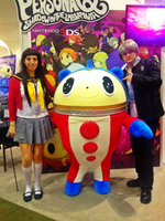Meeting up with Teddie~ by HeadphoneActress