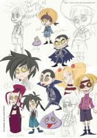 School for Vampires Scribbles by Sunny-X-Ray