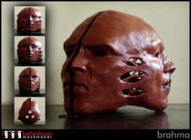 Brahma Mask by kellerfaces
