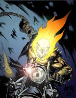 Ghost Rider Colors by scupbucket