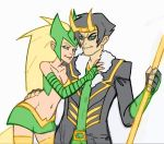 Amora and Loki Sketch by Mailus