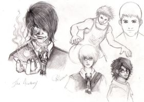 The Academy - Sketches by Aaraujo