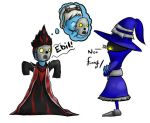 Veigar and 'Karthus' by Zhon890