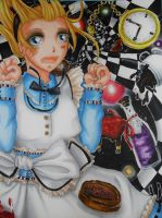Alice Down the Rabbit hole by yoko-chan012
