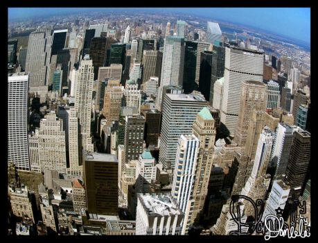 Empire State Bldng View NYC by daniela-ily