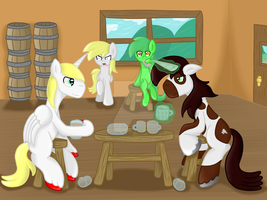 Contest Prize 2nd Place: Drinking contest by BigMackintosh