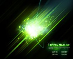 Living Nature - Green by Cheezen