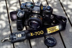 1981: X700 Camera of the year! by TLO-Photography