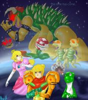 Super Metroid World by ninjin-x