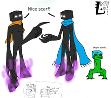 Oh look another Enderman by SpontaneousFork