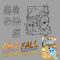 Fall Weather Friends Progress by Timon1771