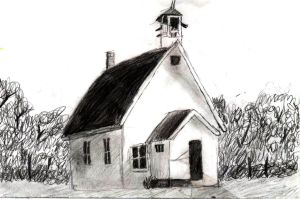 schoolhouse by Save-Me-From-Me