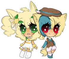Pio and poppy : Yuiikun by All-G