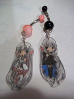 Chobits Chii Freya Belly Rings by Anime-Bling