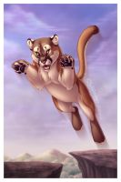 Mountain Lion by DolphyDolphiana