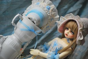 Doll and porcelain 2 by aniszyma