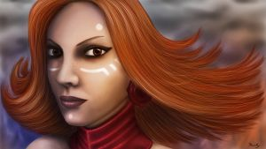 Lina - Dota 2 by SinnerNym