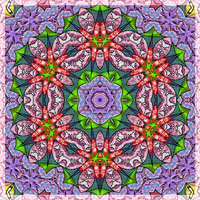 Kaleidoscopic Obsessions 19 by Leichenengel