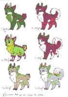 Nowel adopts pack 1 - ONE LEFT by lfraysse