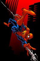 Colours: Spiderman by wrightauk