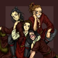 ATLA OC - Siblings 01 by elfgrove