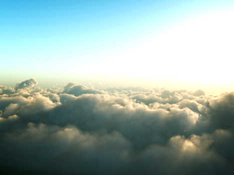 Above the Clouds Stock by matthewvogel1234