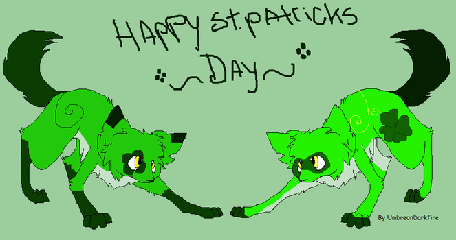 Twin St. Pathricks Day Adoptables::closed:: by Silhouett3s