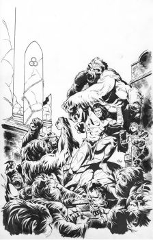 Pathfinder #6 cover inks by GIO2286