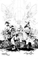 Ordon and Lawrence cover B Ink by SebasP